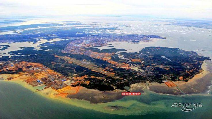 Wisata Bahari Pantai Sekilak, Batu Besar Batam, Kepulauan Riau - Indonesia
