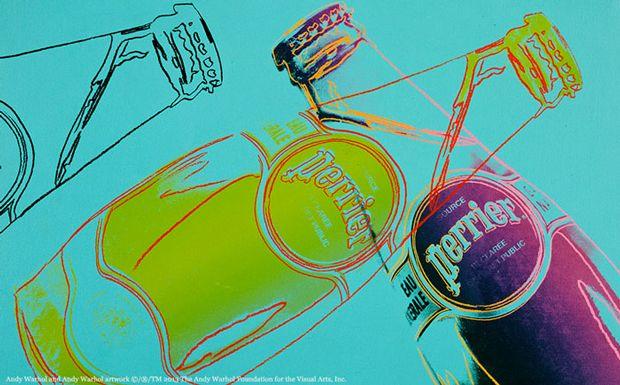 03 Perrier 150 aniversario La botella de Perrier luce su lado más pop en su 150 aniversario
