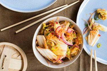 Kimchi (fermented chilli cabbage)