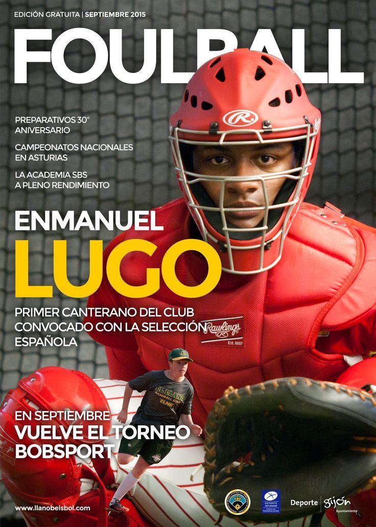 Portada para la revista deportiva Foulball
