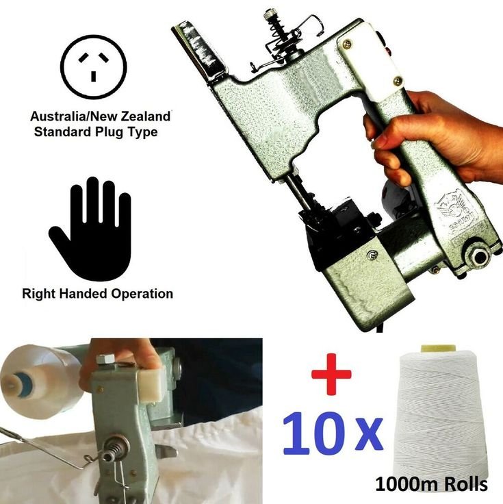 Pro Electric Handheld Bag Sealer Machine Bag Sewing Stitching Sealing Rolls Unbranded In 2020 Sewing Bag Paper Crafts Sewing