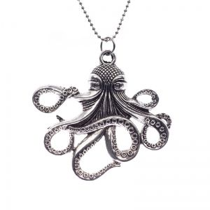 Mysterous octopus necklace