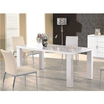 Deco 210cm Dining Table in White