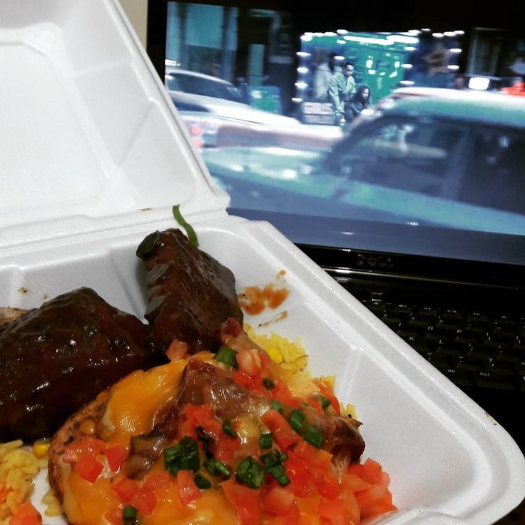 IT'S A GIVE AWAY!!! What movie am I watching?  Guess the movie and you're Fantastic! ;) Order in from Chillis on a Friday night. All Hustle Tonight for me tonight.