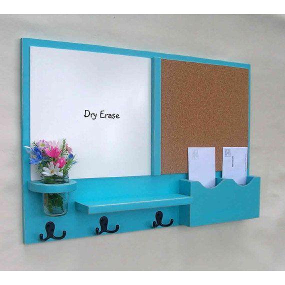 Mail Organizer -  Cork Board - White Board Mail Or ($89.95)