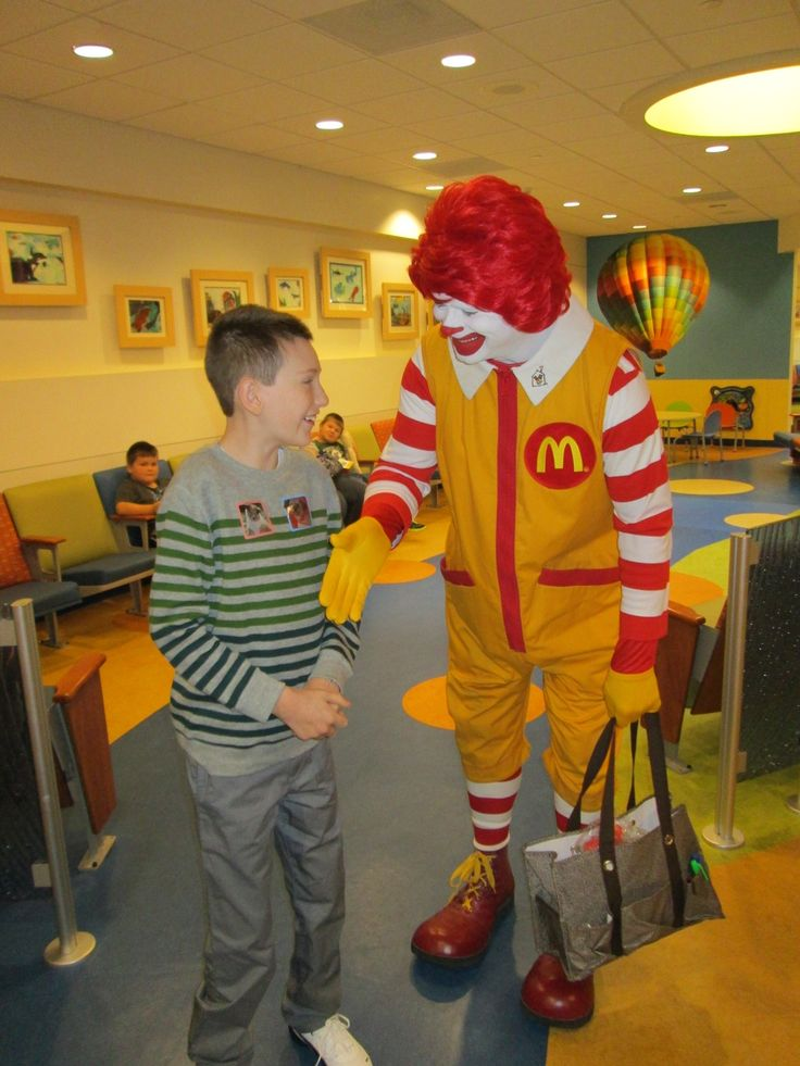 Since the Ronald McDonald House movement began because of