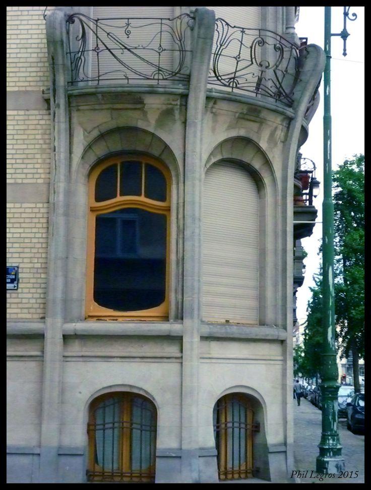 Architecture in brussels art nouveau jules brunfaut for Avenue jules dujardin 5