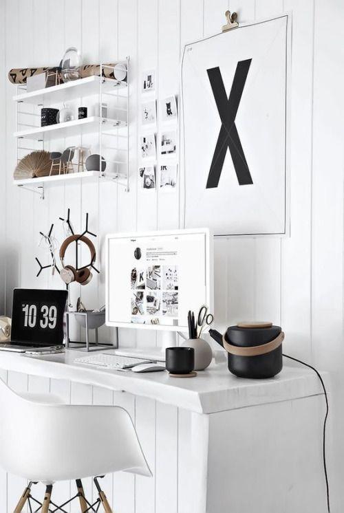 Scandinavian Decor and Designer Blog every office needs the Stelton Theo teapot and mug too!
