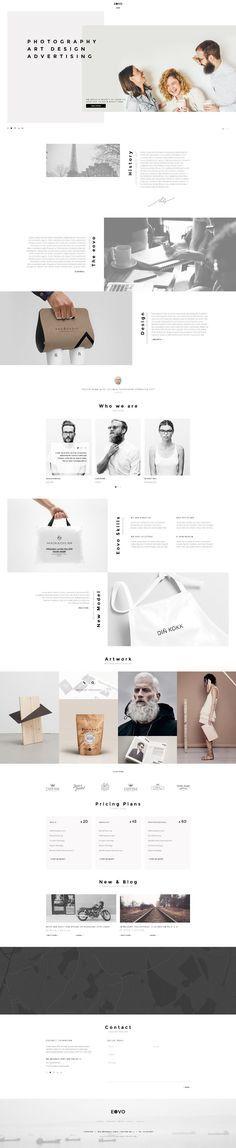Eovo Web Design Inspiration