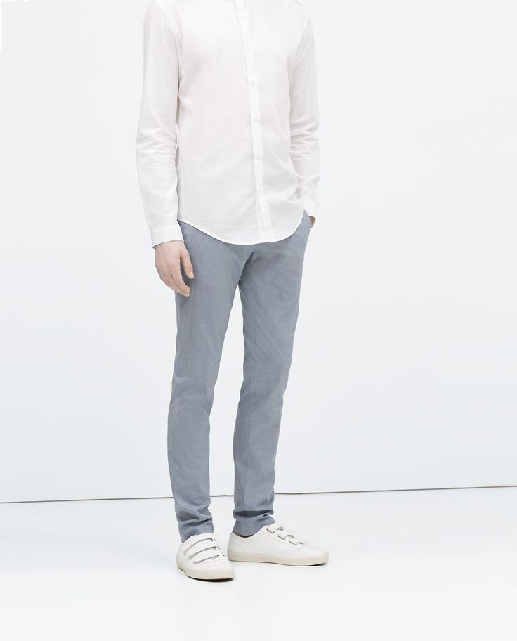 ZARA - MAN - COLORED OXFORD TROUSERS