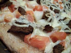 Donair Pizza and Sweet Sauce. Use condensed milk instead of evaporated milk
