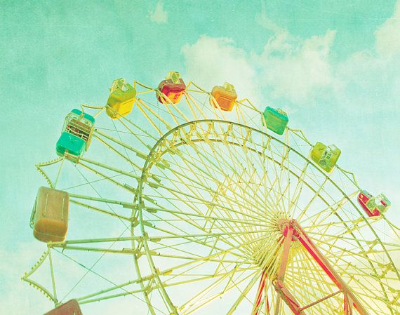 picture: Photos, Carnival Photography, Dream, Color, Carnivals, Art, Summer, Ferris Wheels, Place