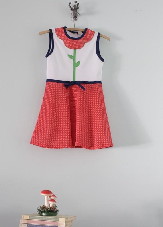vintage dress, i adore it (etsy)