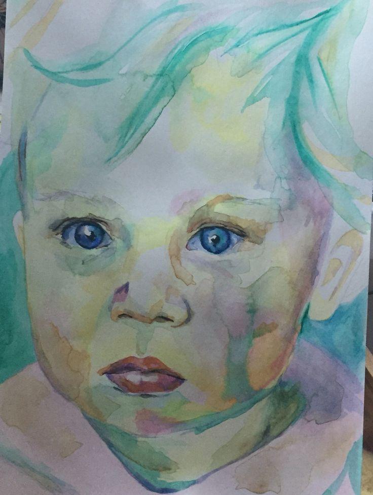 Watercolour by Jen Hoddinott