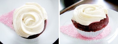 Red velvet cakes, one of favorite desert at Rocca & Co (resto).  @RoccaAndCo Jl. Progo No. 16