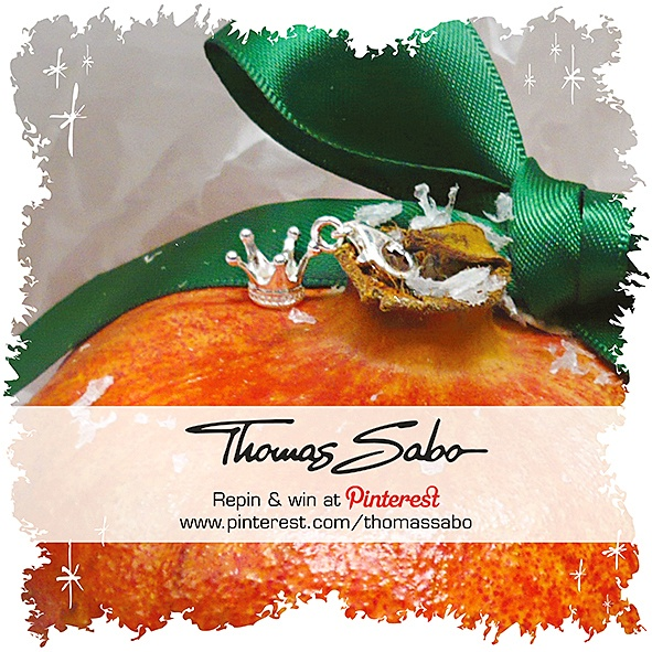 One lucky winner will be drawn on December 5th, 2012! Important: Your facebook or twitter account must be linked to your Pinterest profile! Terms and conditions: http://images.thomassabo.com/www/2/2012/11/TC-Pinterest-Xmas-Sweepstake.pdf