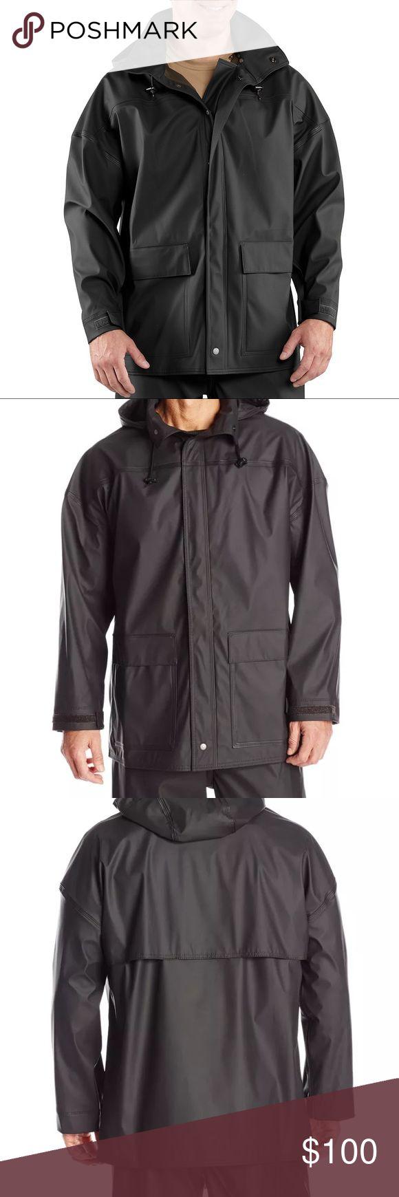 Carhartt Mens Medford Waterproof black rain jacket Brand new with tags large Carhartt Jackets & Coats Raincoats