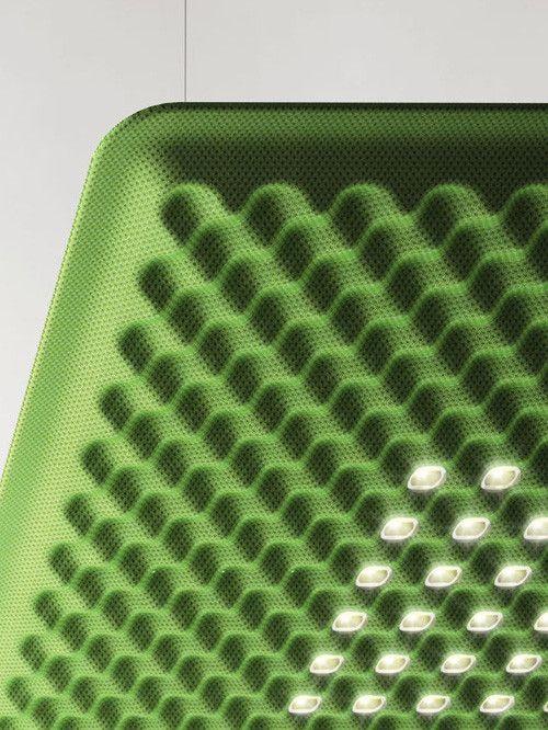 CMF we like / Lamp / fabric / Green / Texture / Embossed / debossed / at leManoosh.com