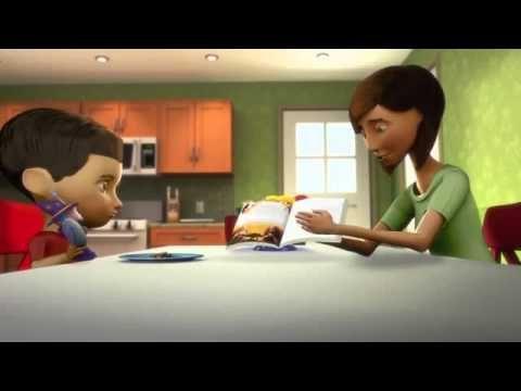 Capitulo 2  Obedece a Dios (dibujos animados para niños)