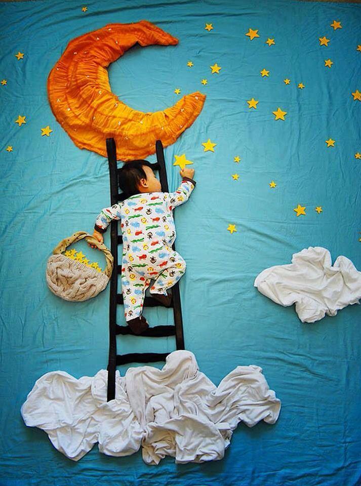 Cool baby photo idea