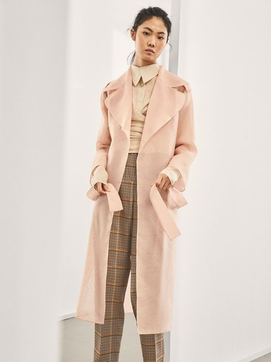 984085bab Abrigos y chaquetas de mujer | Massimo Dutti Avance Primavera 2018 ...