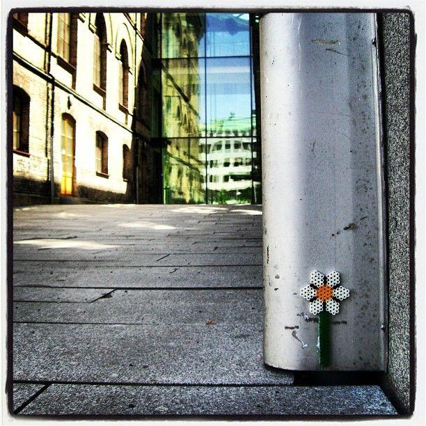 Perler street art by streetart_swe