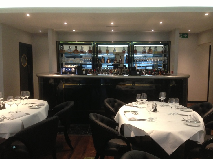 Upstairs seating & #bar area. #restaurant #London