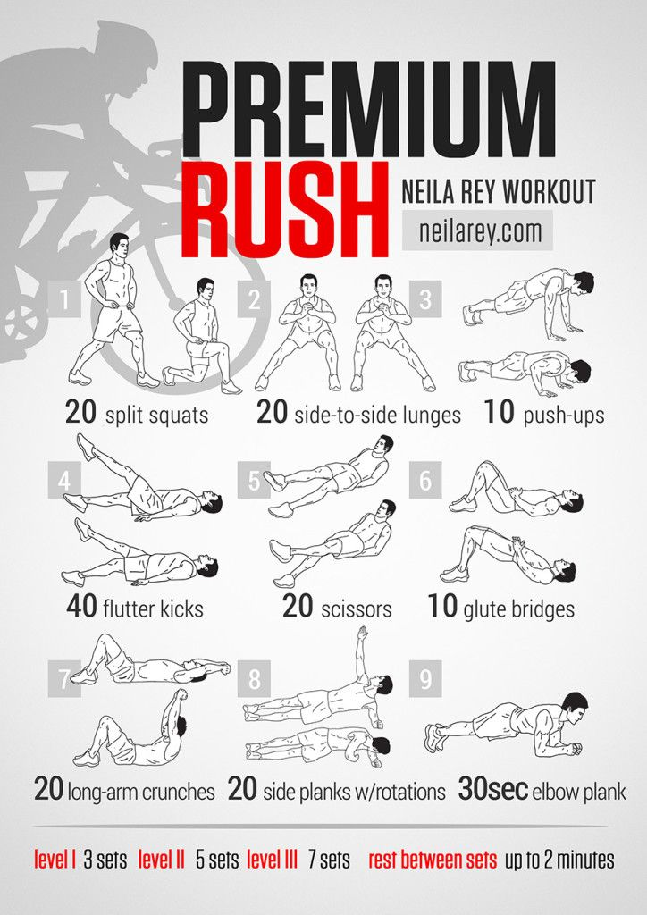Premium Rush Full body Workout!