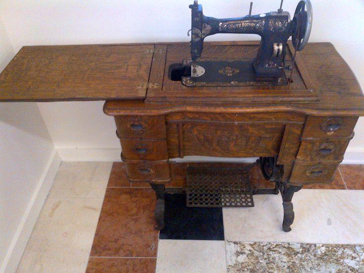 white treadle sewing machine manual