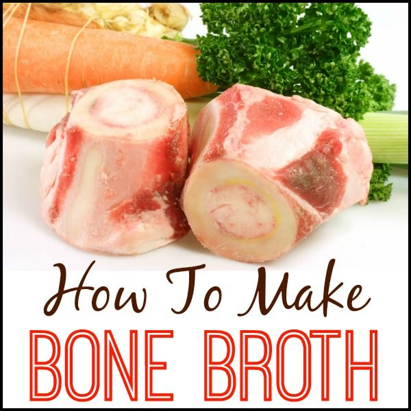 How To Make Healing Bone Broth - works wonders for colds, the flu, joint pain and more. PrimallyInspired.com