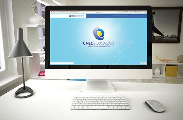 Site CNEC Educação on Behance
