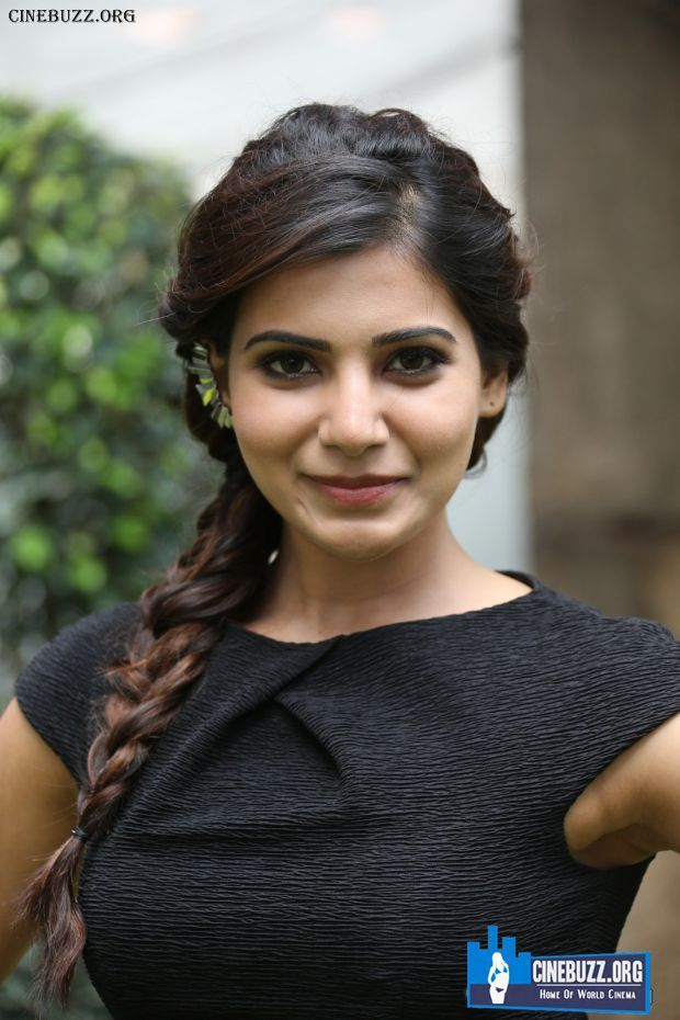 Samantha Ruth Prabhu Interview Photos