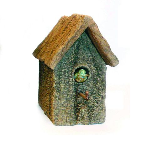 Mesquite Traditional Birdhouse from NATURE DETAILED