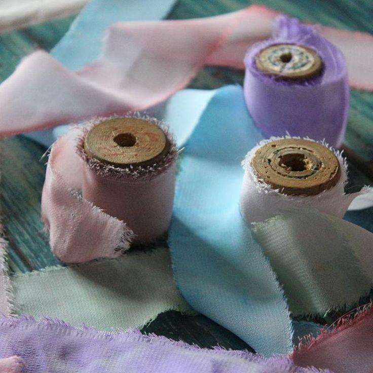 Новости в моей маленькой мастерской: Теперь использую ленты ручной работы для Ваших свадебных приглашений и подарков:) #bittercraft #wedding #приглашение #свадьба #лентыручнойработы #томск