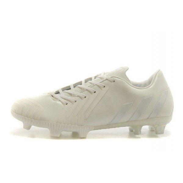 Nouvelle Adidas Pas Cher Chaussures Predator Instinct FG tout Blanc pas chere,tout Blanc adidas predator or, t shirt adidas predator, chaussures adidas predator