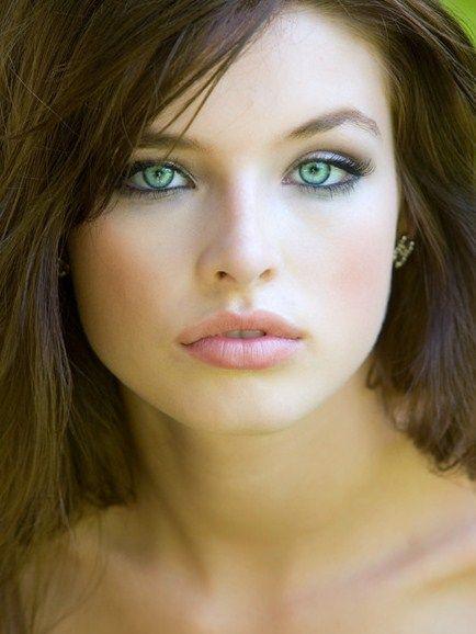 Makeup For Fair Skin Brown Hair And Green Eyes