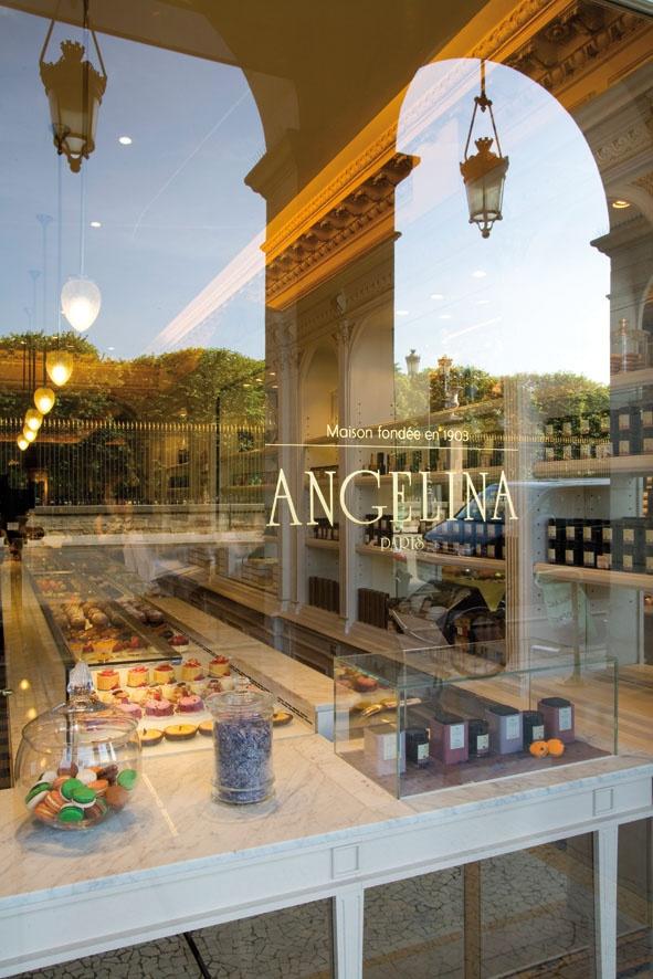 Angelina 226 rue de rivoli paris i f r a n c o p h i l e pinterest pastries buckets - Salon de the angelina paris ...