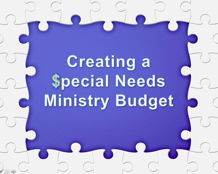 Recently, a special needs ministry leader asked me the following question: What kind of budget do we need to start a successful Disability Ministry and continue its growth over the next 10-15 years...