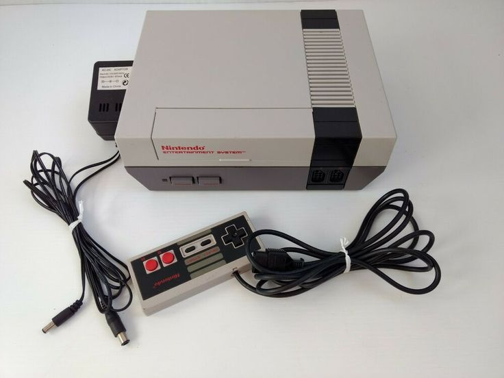 Nintendo Entertainment System NES Console for Parts or