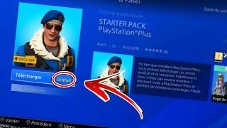nouveau skin ps plus gratuit sur fortnite battle royale - skin fortnite ps plus saison 8