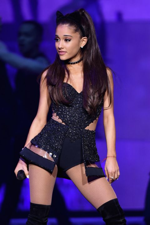 Ariana Grande performs onstage at Madison Square Garden on March 20, 2015, in New York City.