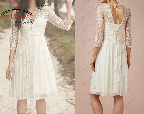 31 best Dresses images on Pinterest | Short wedding gowns, Bridal ...