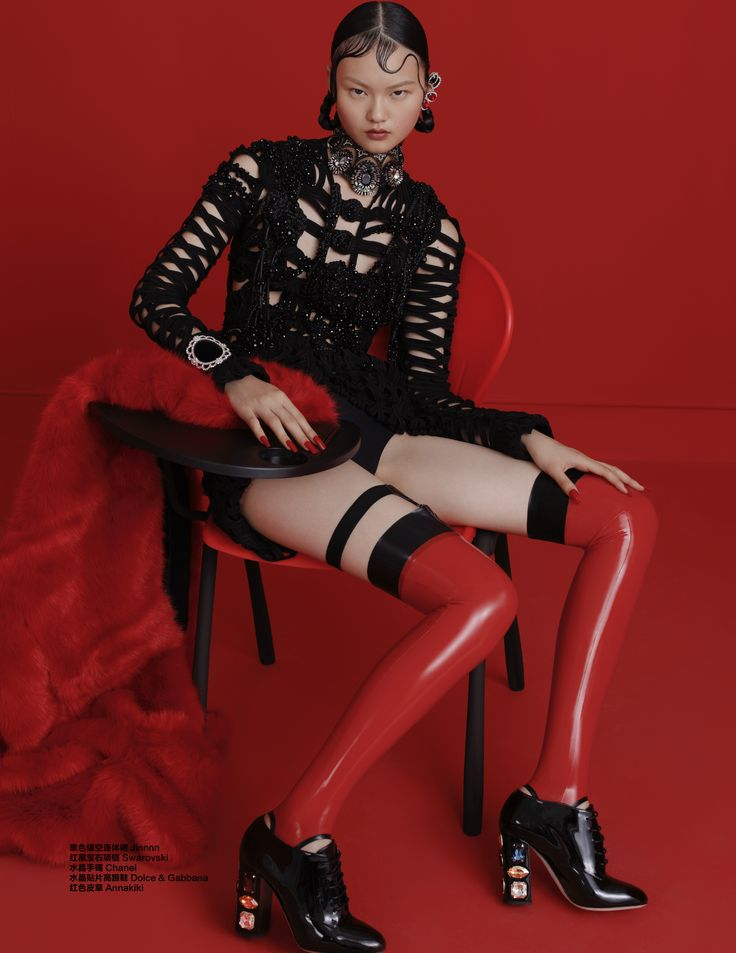 #GothGirl #YuriTan #HeCong by Liu Song for Harper's Bazaar China September 2015.Editor by Xiao Mu Fan. Stylist by Yuri Tan.Makeup by Qi Sun.Hair by Jason X. @stylemgt @imgmodels.paris @imgmodels @modelsdot @givenchyofficial #stylemgt #red #hecong #fashion #harpersbazaar #harpersbazaarcn #AlexanderMcQueen#Givenchy#Chanel#Versace#dolce&gabbana#CalvinKlein#Maticevski #Jinnnn#Annakiki#LaneCrawford