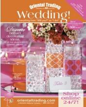 Request an Oriental Trading Wedding Catalog