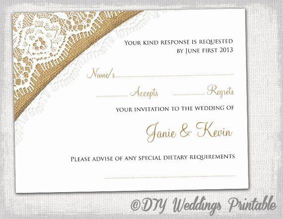 Wedding Rsvp Postcard Templates Inspirational Rustic Wedding Rsvp Template By Diyweddingsprintable Wedding Rsvp Postcard Rsvp Wedding Cards Rsvp Postcard
