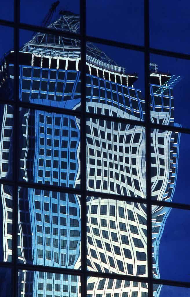 reflective London Docklands
