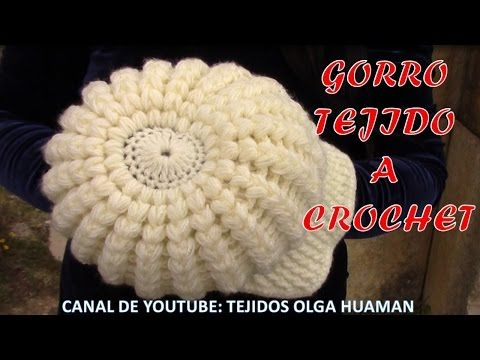 Gorra con visera tejido a gancho fácil y rápido para cualquier edad También si deseas descargar o ver las fotos de las muestras tejidos a crochet en diferent...