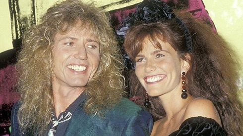 February 17: On this day in 1989, David Coverdale married actress Tawny Kitaen