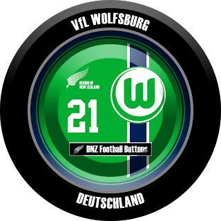DNZ Football Buttons: VfL Wolfsburg