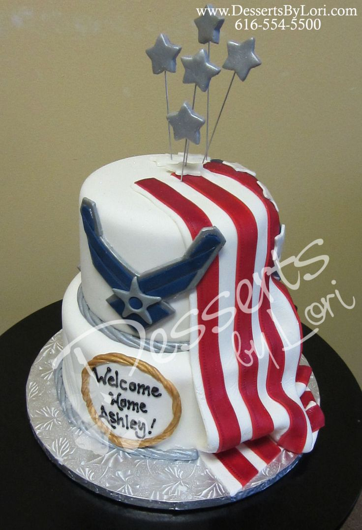 Edible Cake Images Air Force : 17 Best ideas about Welcome Home Cakes on Pinterest ...